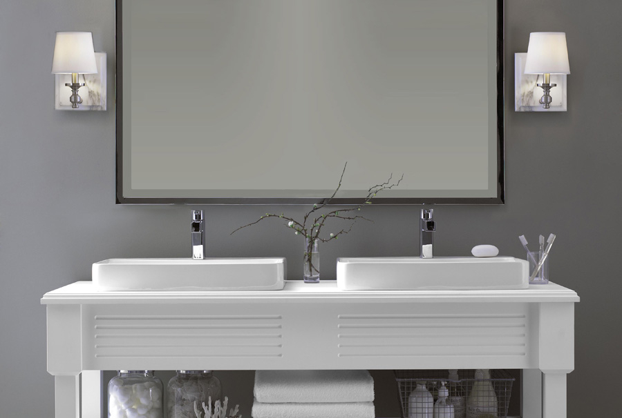 White Bathrooms Nz lighting design ideas for new zealand - vogue lighting i new zealand
